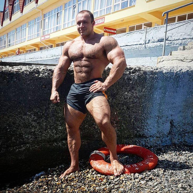 Hairy Bodybuilders  Body Building Men, Muscle Men, Hairy -5373