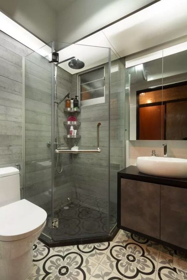Cool Toilet Design for Small Bathroom Example http://freshouz.com/a-different-style-you-can-be-more-comfortable/