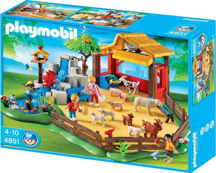 Amazon.com: PLAYMOBIL Children's Zoo: Toys & Games 43