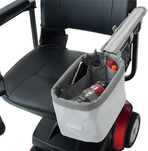 wheelchair accessories   Zippidy Wheelchair Arm Rest Caddy from Classic Accessories