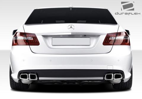 2010-2017 Mercedes E Class W212 Duraflex E63 AMG Look Rear Bumper Cover - 1 Piece