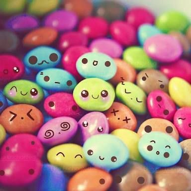 Image result for Smarties With Cute Faces