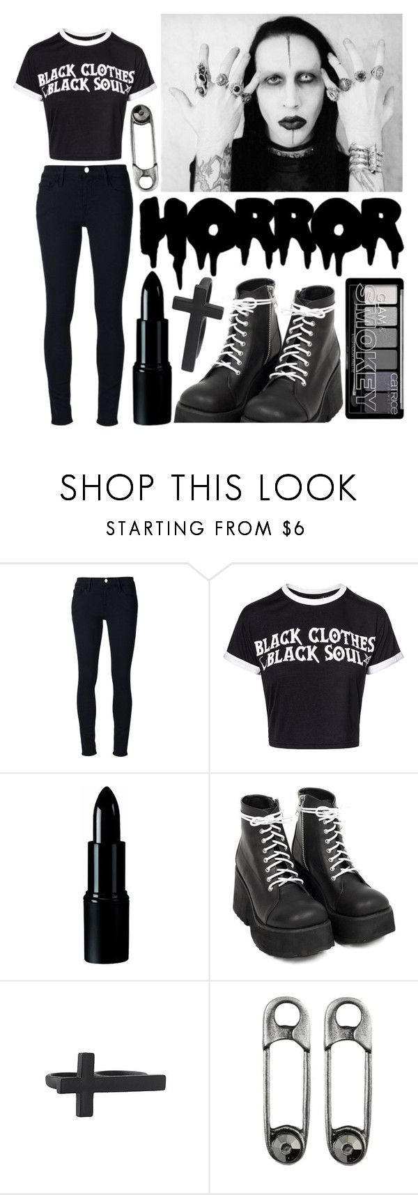"""""""1238"""" by anastaziah2014 ❤ liked on Polyvore featuring Frame and Forever 21"""