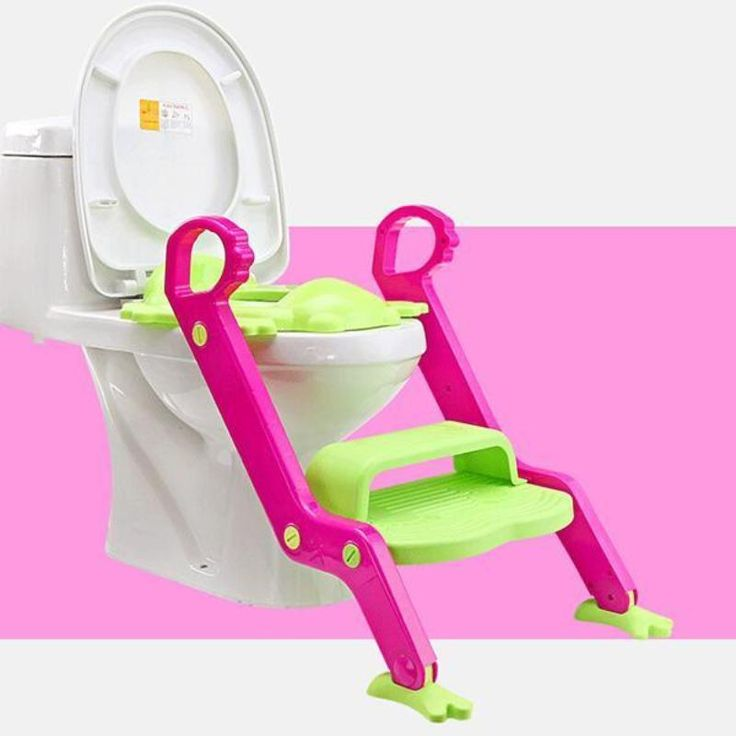 Baby Potty Seat with Ladder Steps and Handle