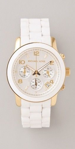 womens cheap designer watches, gold womens watches sale, online shopping for womens watches - Fashionable women's watch in white with diamonds & traditional link bracelet. http://mywatchpro.com/