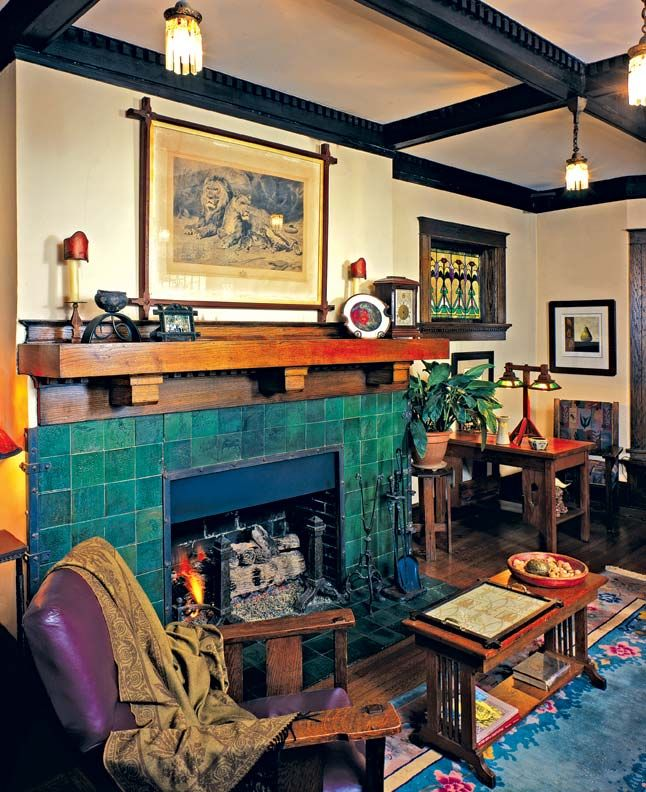 78 Images About Craftsman Style Fireplaces On Pinterest: 145 Best Images About Arts & Crafts Style On Pinterest