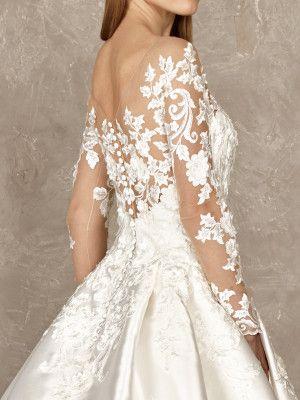 Vestidos de novia sexis y elegantes