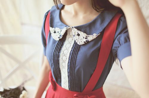 Peter Pan Collar Blouses