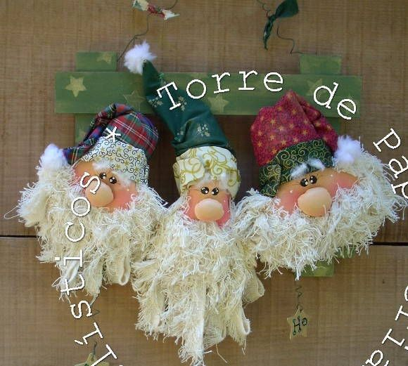 Guirlanda de Papai Noel Country
