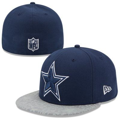 Dallas Cowboys New Era 2014 NFL Draft 59FIFTY Fitted Hat - Navy