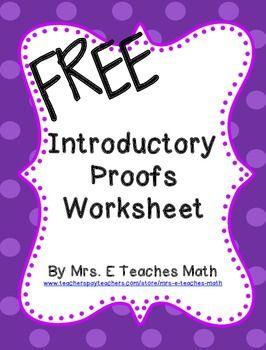17 Best ideas about Geometry Proofs on Pinterest | Proofs in ...