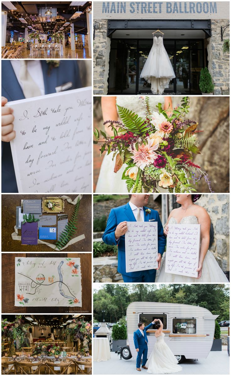 "Seth & Whitney said ""I DO"" at this GORGEOUS woodland wedding in Baltimore.  Their wedding vows were scripted onto canvases and made a beautiful photo prop for the day. Now they hang in their home sweet home. Order your one wedding vow art today from The Standard Canvas. https://www.etsy.com/listing/562913837/calligraphy-wedding-vows-wedding-vows"