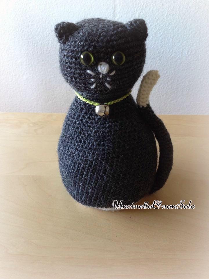 10 idee su schema gatto all 39 uncinetto su pinterest for Cucito creativo gatti
