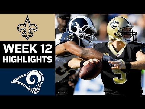 blogging from dusk till dawn: Saints vs. Rams | NFL Week 12 Game Highlights