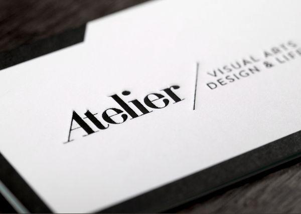 Atelier Identity by Vasava , via Behance