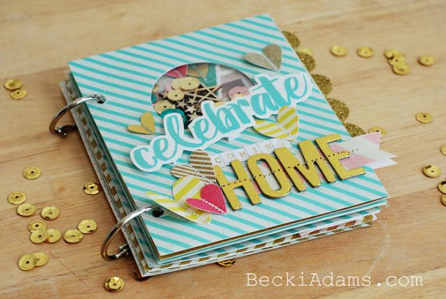 Create a Mini Album with the HSN We R Memory Keepers Fuse Tool Kit