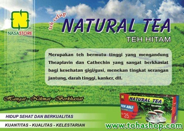 natural teh celup nasa