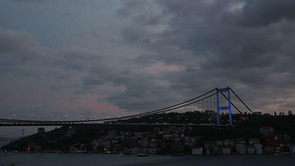Second Bridge with Rain Clouds