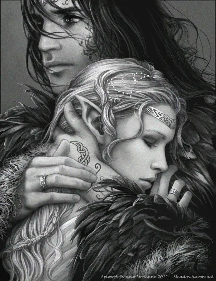"""Kathrynath """"Katy"""" Elendäiÿa 87b381f6e7129110a00f11c50292e28f--fantasy-love-beautiful-fantasy-art"""