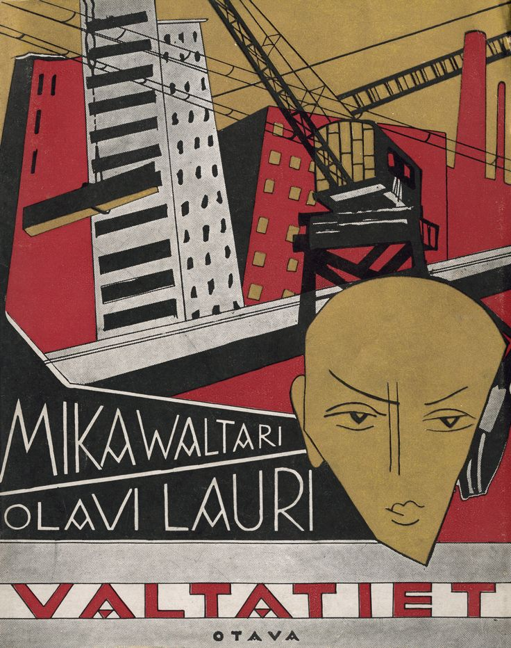 Title: Valtatiet | Author: Mika Waltari, Olavi Lauri  | Designer: Sylvi Kunnas