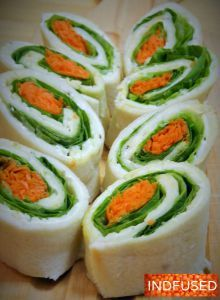 Tiranga Sandwiches for Indian Independence Day!