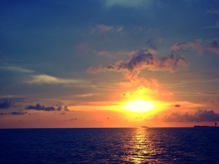 Sunset in Karimunjawa, Indonesia