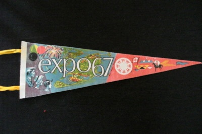 Montreal Expo '67 pennant