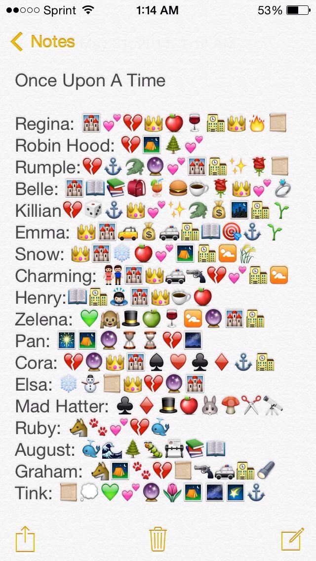 Ouat emojis