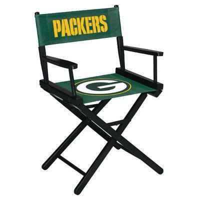 Imperial NFL Table Height Director Chair NFL Team: Green Bay Packers