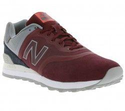 New Balance 574 Sneaker Rot MTL574DB