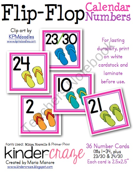 Classroom Calendar Numbers : Images about classroom print numbers on pinterest