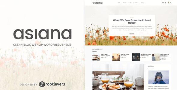 Asiana is a clean blog & shop WordPress theme - #food #blog #design | Get it here: https://themeforest.net/item/asiana-clean-blog-shop-wordpress-theme/20038770?ref=dronestarstudio