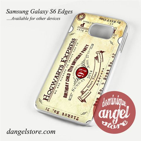 hogwarts express Phone Case for Samsung Galaxy S3/S4/S5/S6/S6 Edge Only $10.99