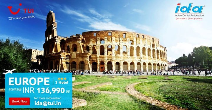 Dear #IDAmembers enjoy this #vacation at discounted rates with TUI India; a travel partner of IDA. For more info visit us: http://bit.ly/2eo2o44 or write to: ida@tui.in