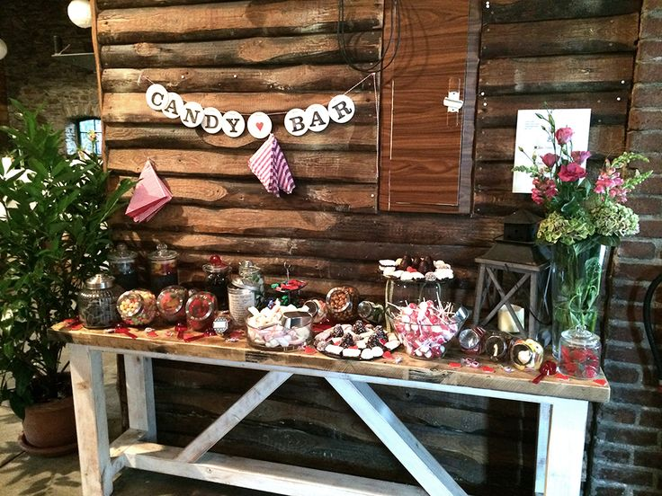 CANDY BAR Girlande / Hochzeitsgirlande // candy bar bunting for the sweet table