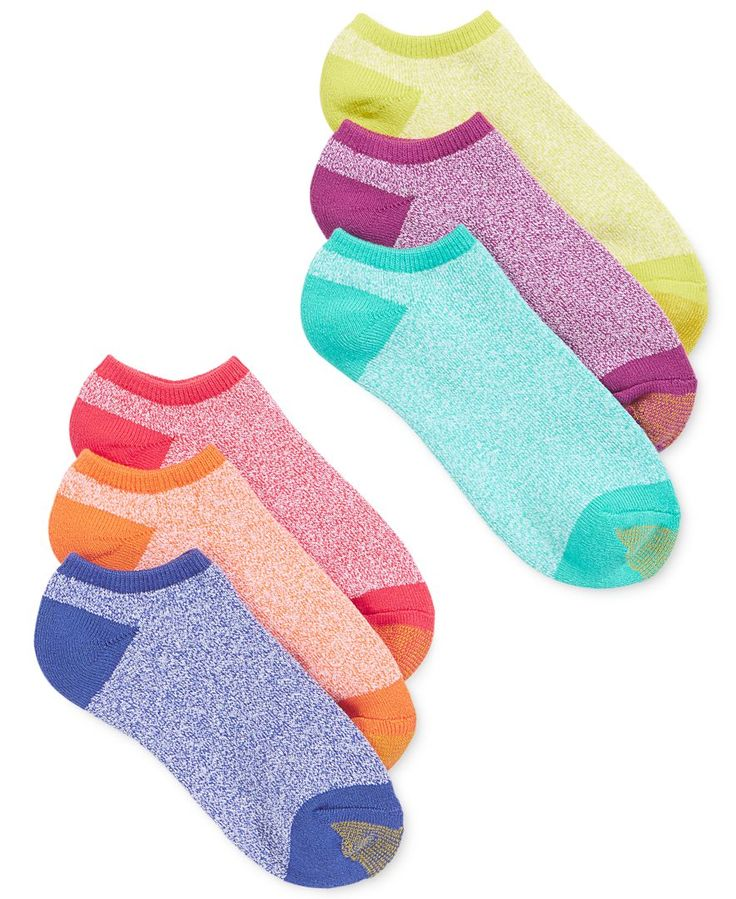 Gold Toe Cushion Liner 6 Pack Socks