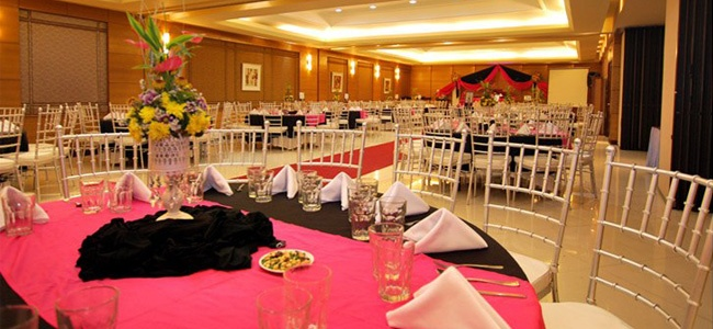 Wedding Set-up at City Garden Suites Manila
