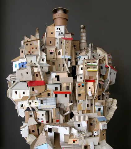 Paper-made-cityscape