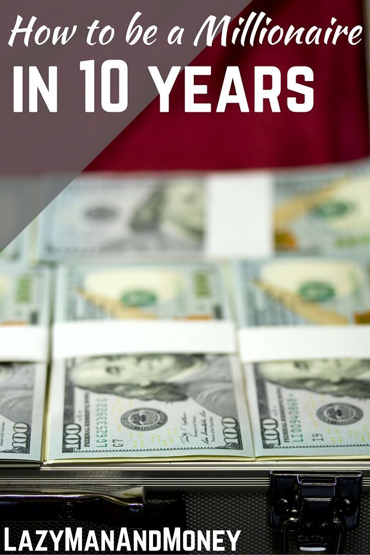 Yes, it is possible to be a millionaire in 10 years! Here are the strategies you need to make in order to become a millionaire in 10 years. www.lazymanandmon...