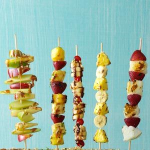 Citrusy Fruit Kabobs Recipe -Fresh, fruity—and lower in sodium and fat—this kabob recipe is a great pick! —Mary Relyea, Canastota, New York