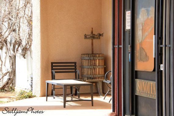Photograph at a wine vineyard in Sonoita for by StilljamPhotos