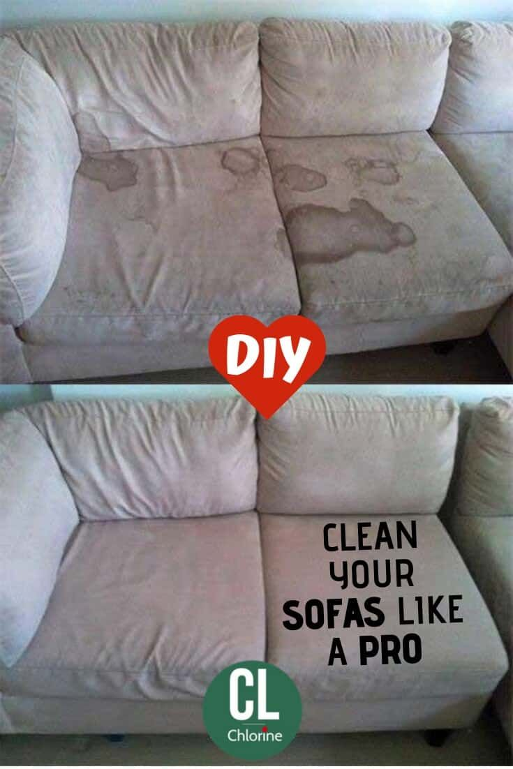 5 Proven Ways To Clean Disinfect Your Sofas Clean Sofa Diy