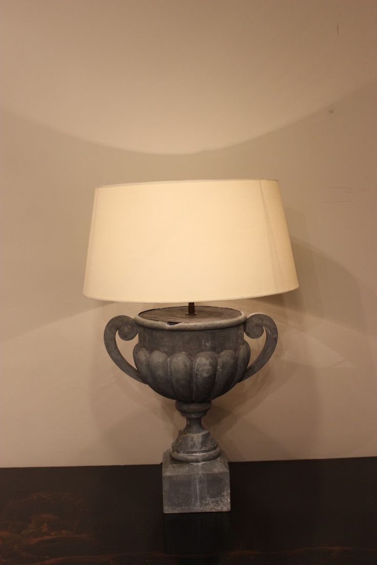 212 best antique lighting images on pinterest antique lighting a nice quality french 19th century zinc urn recently converted to a table lamp geotapseo Image collections