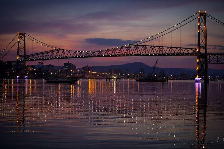 #Puente de #Florianopolis -> hermoso por donde lo veas ¡ #Viaja con #Despegar!