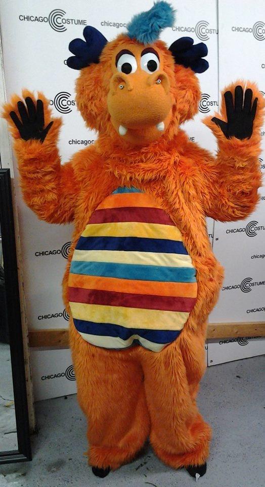 Kazoo, custom mascot costume for Epic entertainment