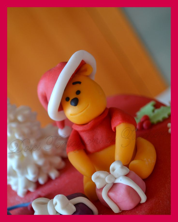 Winnie the Pooh in veste natalizia