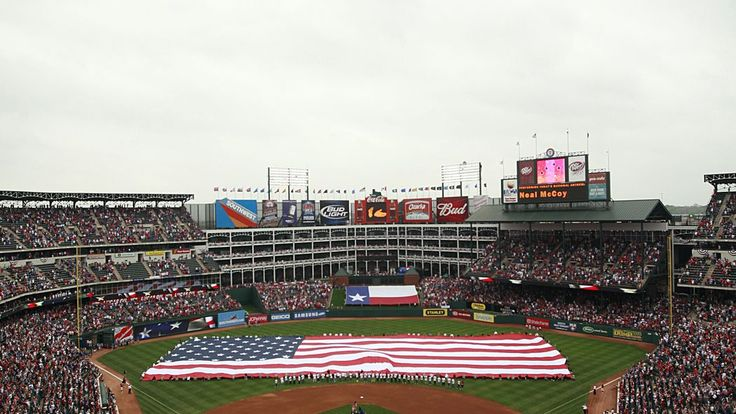 The Texas Rangers open the 2018 season at home against the Houston Astros
