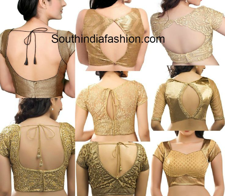 ReadyMade Gold Blouses in Different Patterns