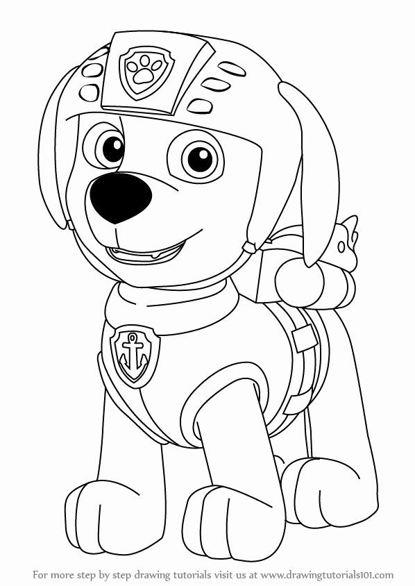 Zuma Paw Patrol Coloring Page New Zuma Is A Male Character From Paw Patrol He Is A Paw Patrol Coloring Paw Patrol Coloring Pages Dog Coloring Page