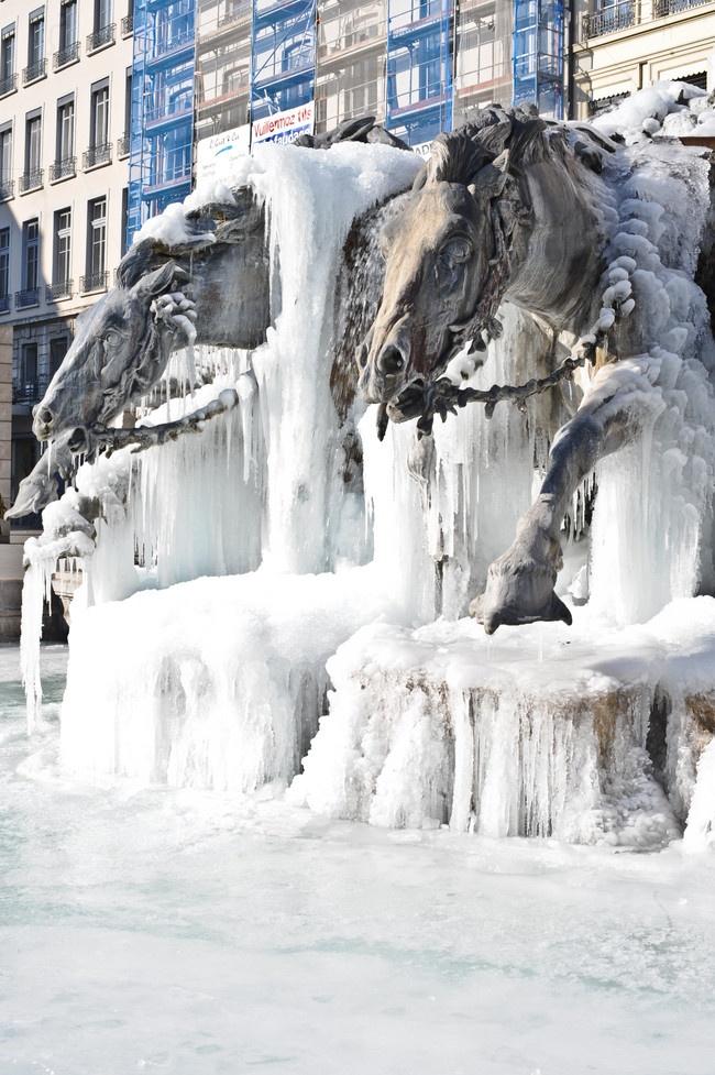 Lyon glacé